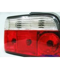 ชุดแต่งรถ BMW ไฟท้าย LED ใสตาเพชรรถบีเอ็ม E36 316i 318i 320i 325i  M40 M43 M50 Series 3