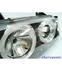 ชุดแต่งรถ ไฟหน้า L วงแหวนโดนัท Projector รถบีเอ็ม BMW E36 316i 318i 320i 325i  M40 M43 M50 Series 3