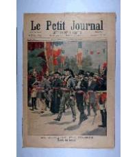 หนังสือพิมพ์ฝรั่งเศษ Le Pitit Journal ปี 1900