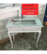 โต๊ะเพ้นเล็บ โต๊ะทำงานสไตล์วินเทจ  ราคาถูกจากโรงงาน