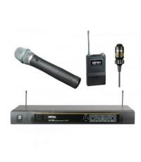 ไมโครโฟนไร้สาย MR-823D+MH-801a+MT-801a
