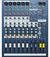 Mixer SOUNDCRAFT รุ่น EPM 6
