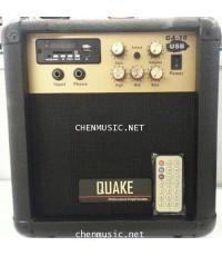ตู้แอมป์กีต้าร์  Quake GA-10USB