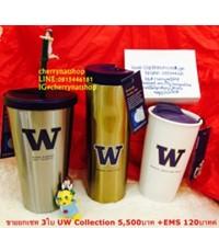 ขายแก้วstarbucks USAยกเซทStarbucks UW Collection the University of Washington 3ใบ ราคาSale 5,300บาท
