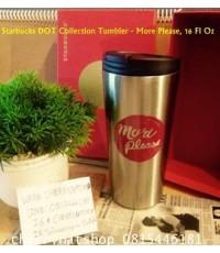 Starbucks USAรุ่นหายากจริงๆ Starbucks DOT Collection Tumbler - More Please, 16 Fl Oz