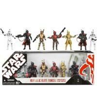 The EE Exclusive Star Wars Mandalorians & Clone Troopers Set