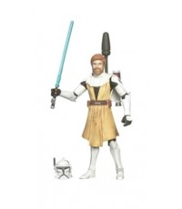 Star Wars Clone Wars Action Figure - Obiwan New Packing