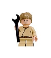 Lego Figure Star Wars Young Anakin Skywalker