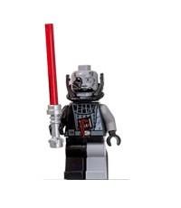 Lego Figure Star Wars  Battle Damaged Darth Vader