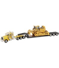 Norscot Peterbilt Model 389 and Trail King Lowboy with CAT D8R Series 2