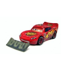 Disney Pixar Cars with Lenticular Eyes Lightning McQueen with Shovel  (LOOSE)