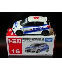 Suzuki Swift sport Rallycup car