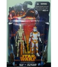 Star Wars Mission series 2 packs : Utapau BATTLE DROID + 212TH BATTALION CLONE TROOPER