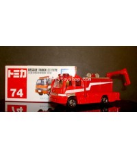 Tomica No 74 RESCUE TRUCK III TYPE