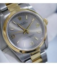 ROLEX 67483 No Date Size 31 mm หน้าปัดเทาเลข369