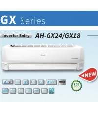 SHARP (INVERTER Entry GX-Series) AH/AU-GX18WMB ขนาด 18300 บีทียู