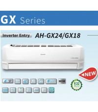 SHARP (INVERTER Entry GX-Series) AH/AU-GX24WMB ขนาด 22000 บีทียู