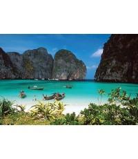 อ่าวมาหยา จ.กระบี่  ทะเลไทยสวยติดอันดับโลก