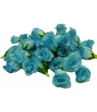 ดอกกุหลาบประดิษฐ์สีฟ้า
