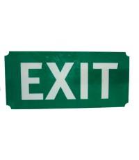 ตัวแผ่นป้ายพลาสติก Exit