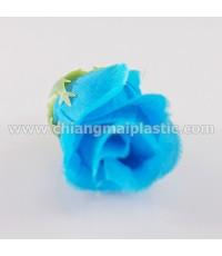 ดอกกุหลาบตูม ดอกยาว สีฟ้า