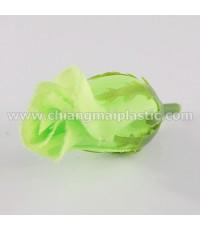 ดอกกุหลาบตูม สีเขียวมะนาว