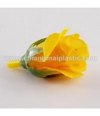 ดอกกุหลาบตูม สีเหลืองสด
