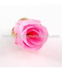 ดอกกุหลาบตูม สีชมพูอ่อน