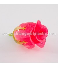ดอกกุหลาบตูม สีชมพูโอลด์โรส