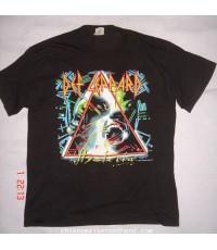 เสื้อทัวร์ Hysteria Tour 1987 Def Lappard size L Made in U.S.A.