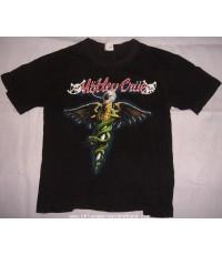 เสื้อวงร็อค Motley Crue 1989 size L Made in U.S.A.