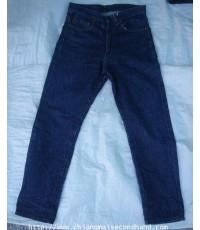 กางเกงยีนส์วินเทจ 60-70s Vintage JC Penny Jeans Pant 31x28.5 Talon 42 Zipper ผ้าด้านจัดๆ