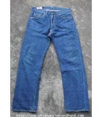 กางเกงยีนส์ผ้าด้านริมกะเทย Canton X-West Lot 0 Half Salvage Jeans Pant 32x28.5 Made in U.S.A. Talon