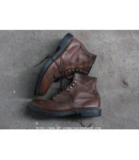 รองเท้าบู๊ท Red Wing Shoes Boot Sz. 12 10 รู หัวเหล็ก Worker Style สภาพสวย