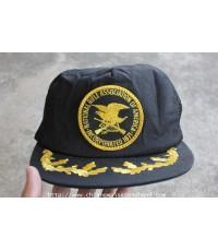หมวกสมาคมปืนไรเฟิลอเมริกา The National Rifle Association of America NRA Trucker Cap Made in U.S.A.