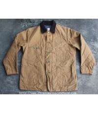 เสื้อผ้าเต๊นท์ 3 ตะเข็บ Oshkosh B Gosh BLANKET-LINED COTTON DUCK CHORE JACKET U.S.A. Sz.L ใหม่กริ๊บๆ