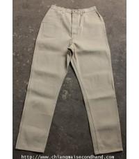 กางเกงผ้าสีน้ำตาล Vtg. Misses Wrangler Pant Sanforized 31x30.5 U.S.A. Talon ป้ายขวาง เกือบเดดสต็อค