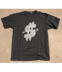 เสื้อยืด Andy Warhol Graphic Short Sleeve Uniqlo T-Shirt Sz.M สวย สีดำเข้ม
