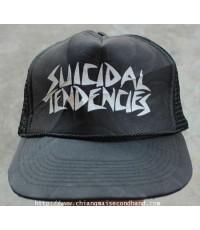 หมวกสเกตพังค์ SUICIDAL TENDENCIES TRUCKER CAP FREE Sz. OTTO ใหม่กริ๊บ