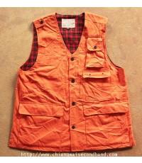 เสื้อกั๊กล่าสัตว์ล่าเป็ด ASTER Shooters Wear Duck Hunting Vest Sz.M/L Japan ใหม่กริ๊บ