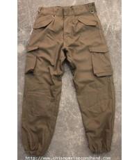 กางเกงล่าสัตว์ล่าเป็ด Duck Hunting Trouser Pant Button 33x28.5 เป้าต่ำซับเข่าก้น ใหม่ไม่ผ่านน้ำ