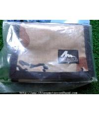 กระเป๋าสตางค์ Gregory Slim Wallet Chocolate Ship Sz.8.5x12 Made in Vietnam ของใหม่