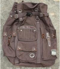 กระเป๋าเป้ผ้าใบสุดเท่แบรนด์ญี่ปุ่น Brown Device Access 2 Way Canvas Backpack 52x35x35 ใหม่กริ๊บ