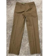กางเกงทหารอังกฤษ Deadstock British Uniform Mans No.2 Dress Army Trouser 38x37 Opti Zipper