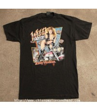 เสื้อยืดฮาร์เลย์เดวิดสันผ้า 50/50 Vtg. 1988 3D Emblem Harley-Davidson T-Shirt Sz.M USA