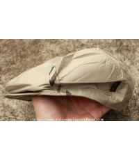 หมวกติงลี่ผ้าร่มแบรนด์ดังอังกฤษ DAKS Flat Cap 52-56 cm. Made in Japan YKK สวยคลาสสิค สภาพใหม่กริ๊บ