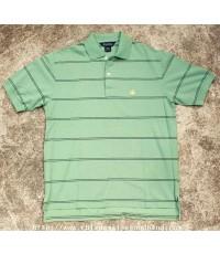 เสื้อโปโลลายขวาง Brook Brathers Striped Polo Shirt Sz.L ใหม่กริ้บ สีสวยแจ่ม