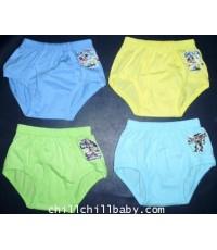 กางเกงในเปิดเป้าสีรีดSticker  Size \'S\'  (โหลละ 260 บาท)