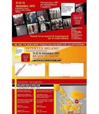 เสื้อผ้าแฟร์ International Clothing 11-13/09/2013 (อิตาลี) สนใจติดต่อ088-289-1038 คุณ.หยก