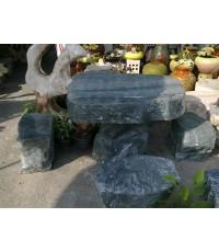 โต๊ะหินอ่อนสีเขียว (หินธรรมชาติ)